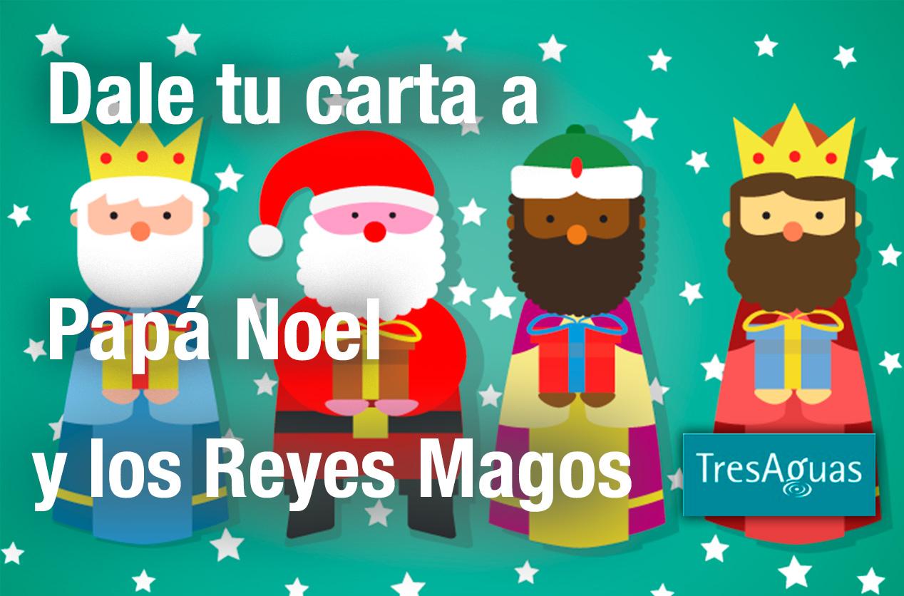 Fotos Papa Noel Reyes Magos.Carta A Papa Noel Y Los Reyes Magos Pink Stone
