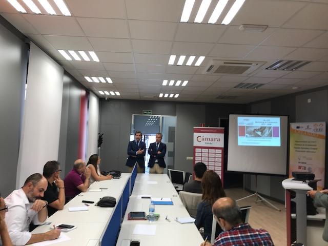 Asistentes taller prencial gratuito Toledo SEO-SEM Pink Stone