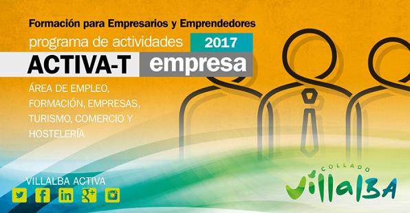 Cartel Activa-T Empresa 2017