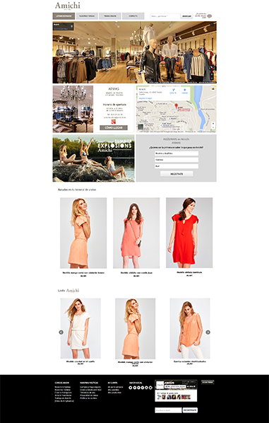 Buscador de Tiendas Amichi hechas por SI-Mark